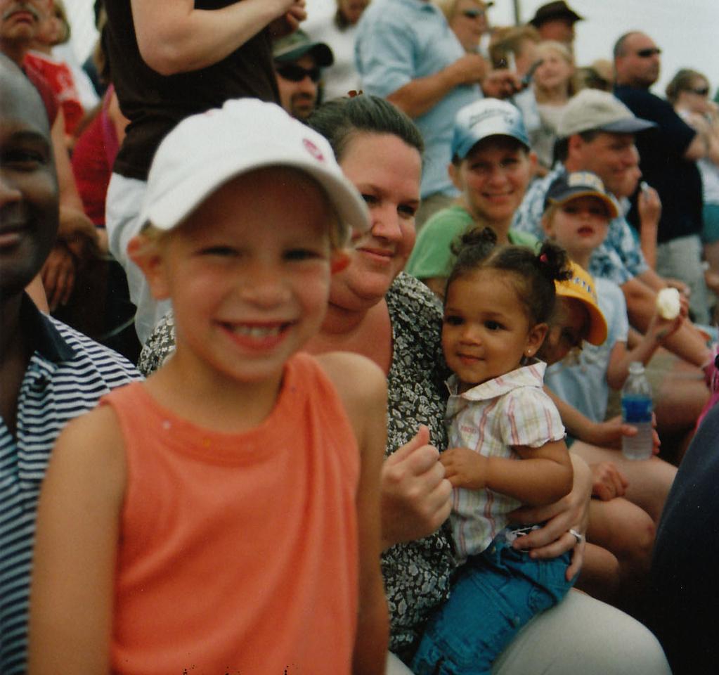 The family, August, 2008, at the Anoka County Fair
