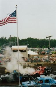 Demolition Derby - August, 2008, Anoka County Fair