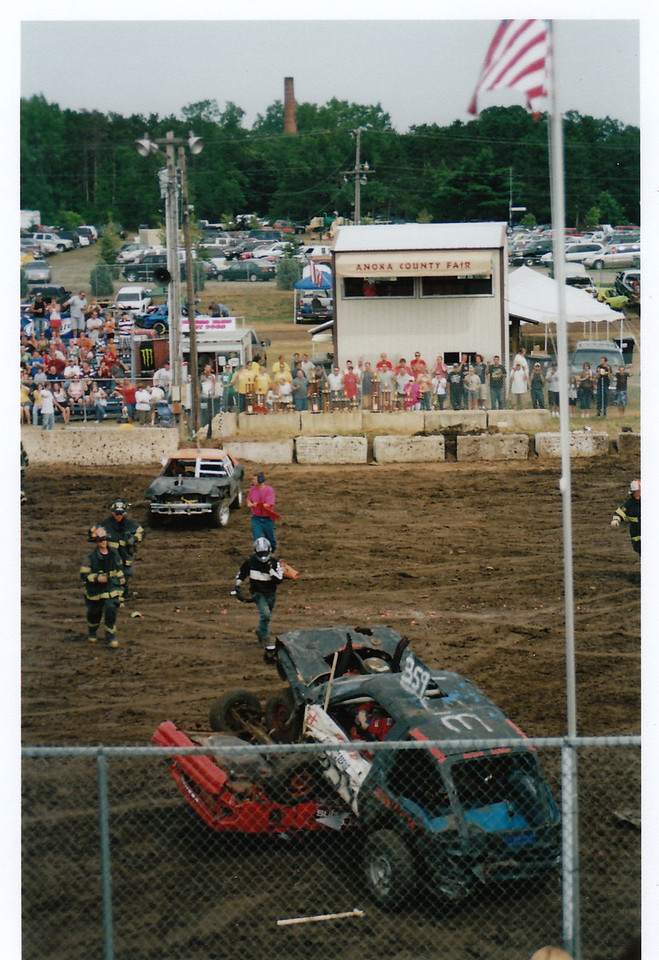 Demolition Derby - August, 2008, Anoka County Fair