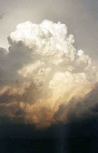 Storm over Southwest Minnesota, the evening of the Granite Falls, Minn, tornado, August 2000.