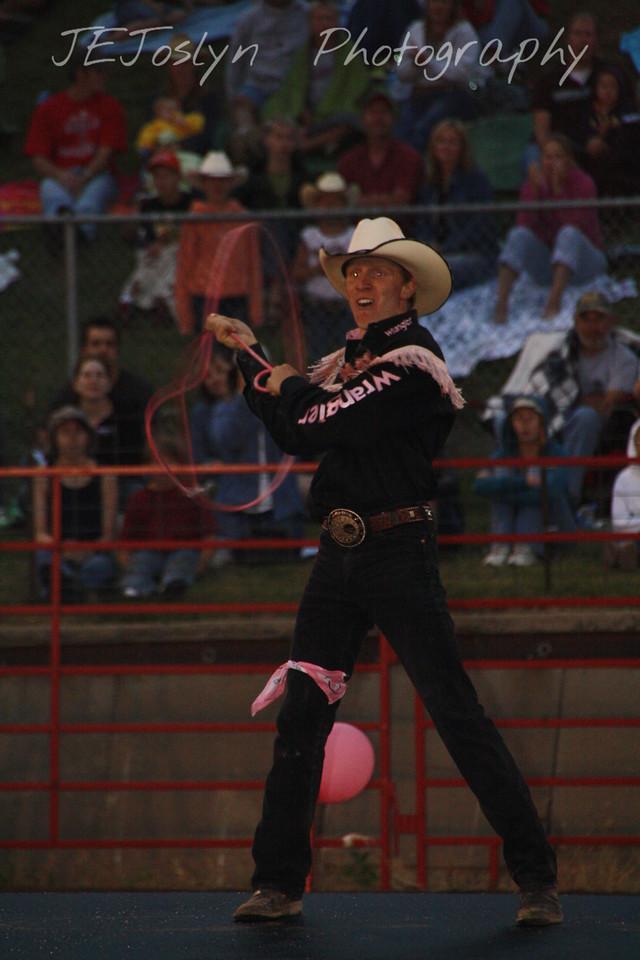 Hamel Rodeo - July 2009, Kiesner Family entertainer.