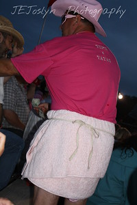 Hamel Rodeo - July 2009   Tough Enough to Wear Pink night at the rodeo.