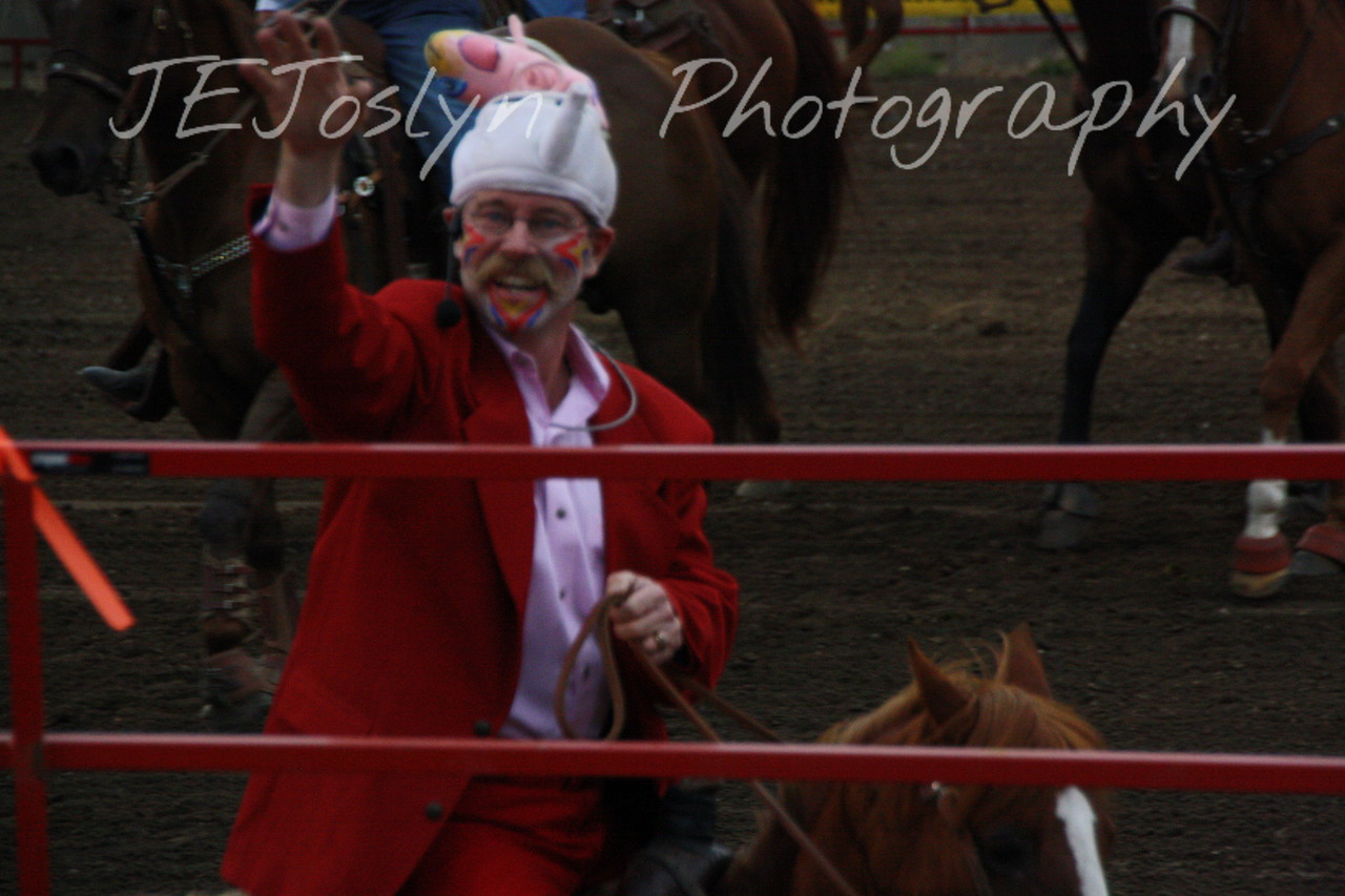 Hamel Rodeo - July 2009, clown