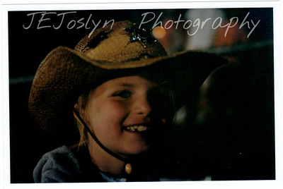Hamel Rodeo.  Hamel, Minneosta, 2008  GD-2, 8 years old and western hat.