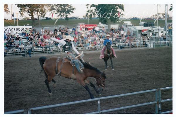 Hamel Rodeo.  Hamel, Minneosta, 2007