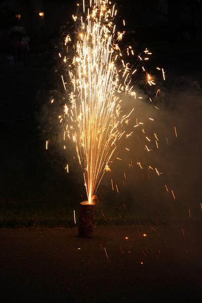 Neighbors-Amys-July 4, 2013   Fireworks