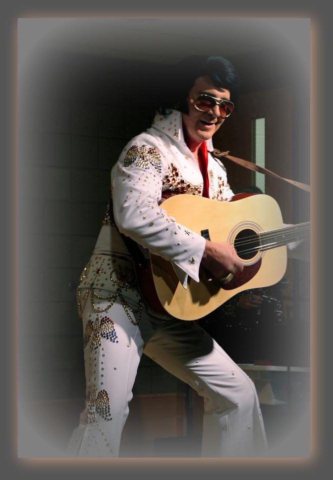 Classmates at 50th reunion of 1961-Osseo - Friday evening, Bill's Bash- Elvis