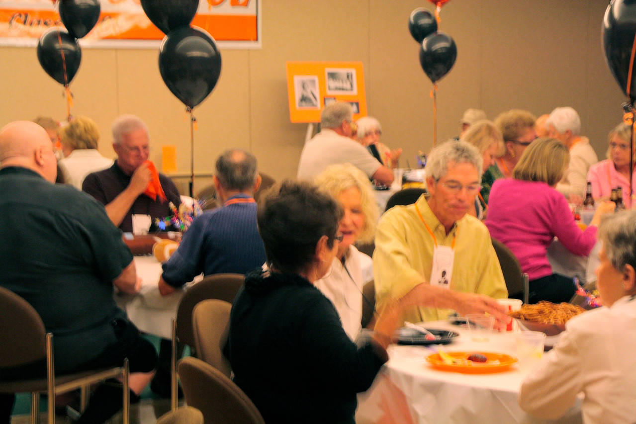 Classmates at 50th reunion of 1961-Osseo - Friday evening, Bill's Bash