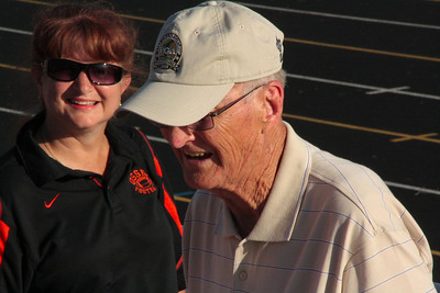 50th reunion of 1961-Osseo - John Hansen, at Football game