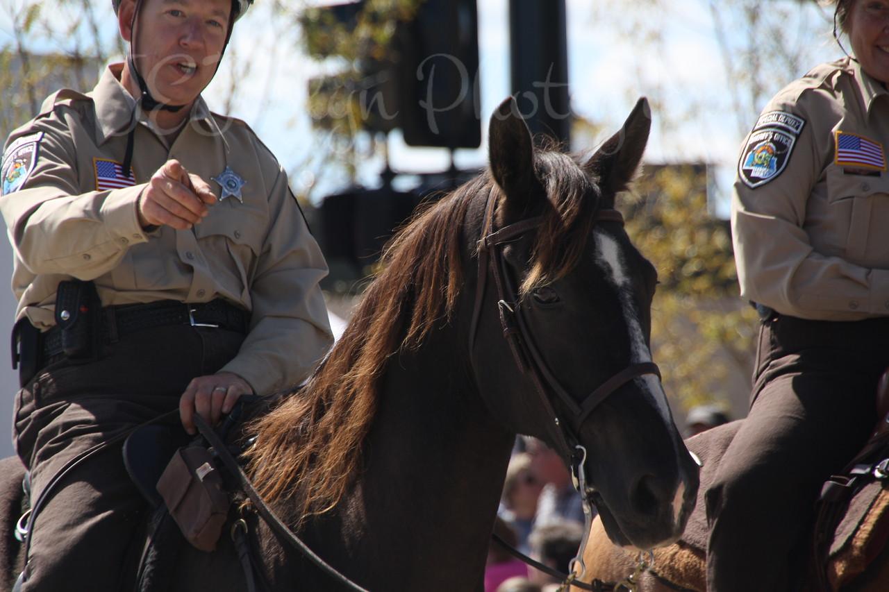 Lions Roar Parade-9-11-2010   Hennepin County Sheriff-Sheriff Stanek