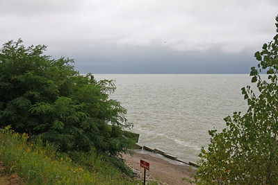 Lake Erie in Mentor, Ohio
