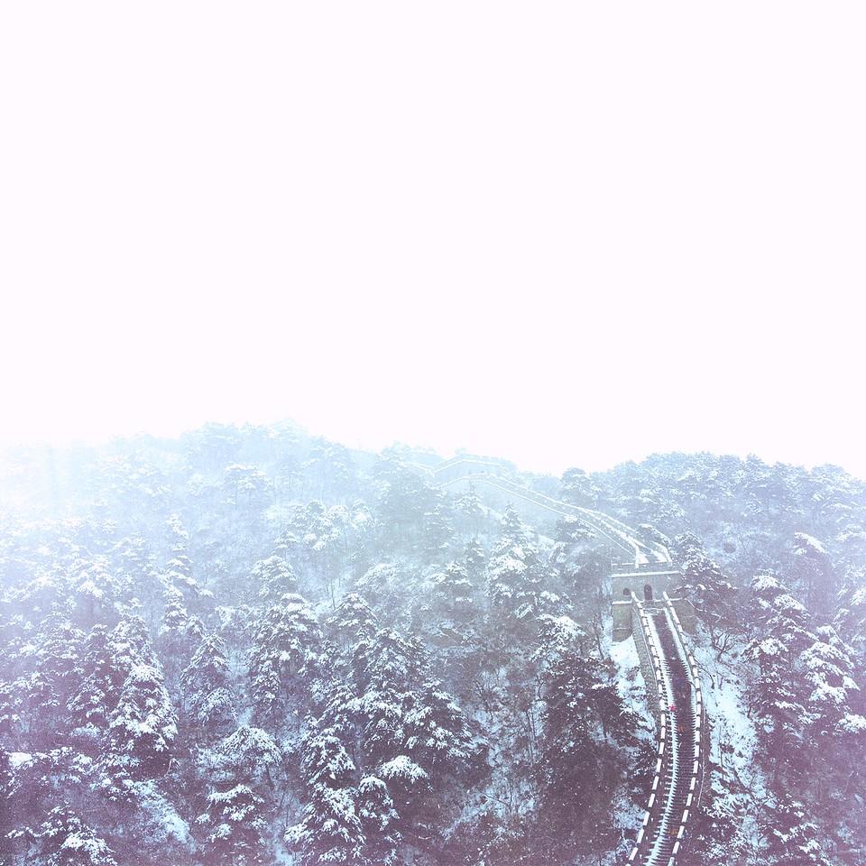 Snowfall On The Wall