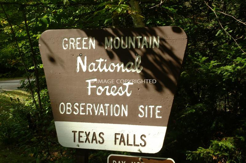 Green Mountain National Forest TEXAS FALLS