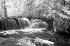Raleigh Falls, August 4th, 2014.<br /> <br /> The day I took this photo, I had 5 cameras with me, 3 of which were film cameras but this photo was taken with a Canon 10D converted to shoot IR, with a Canon 24-105 lens. <br /> <br /> 1/25 of a second (hand held) at F20 and ISO 100.