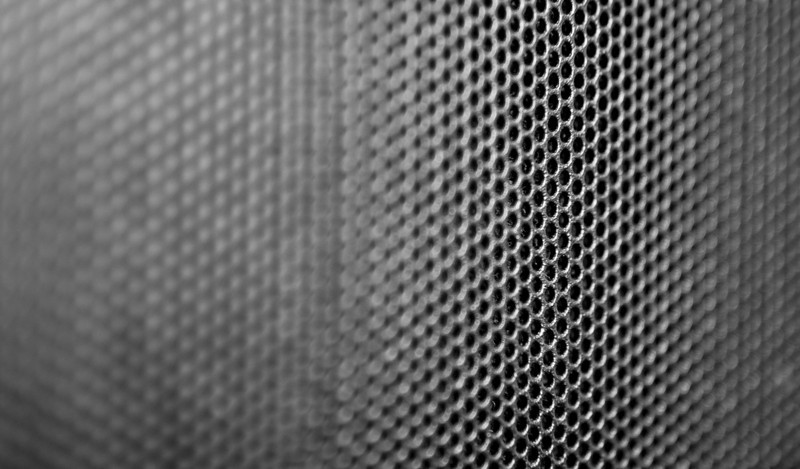 25 of 365<br /> <br /> Macro shot of bay cover on my pc. 1/15 second, at f/4.0 and a  ISO of 640 (hand held).