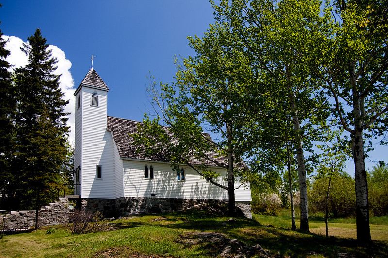Small church in Wabigoon Ontario.