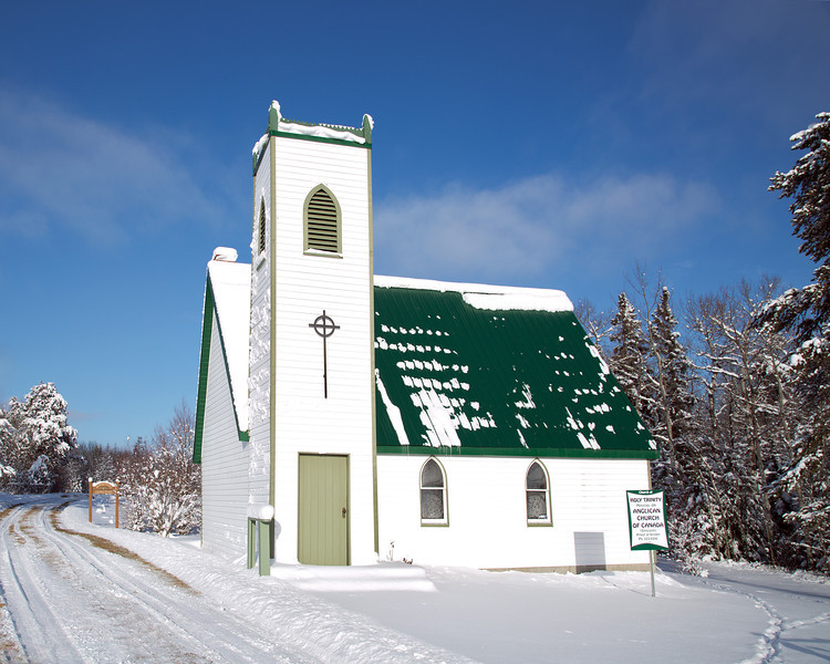 The Holy Trinity Anglican Church Of Canada, loacted in Minnitaki Ontario.<br /> <br /> I've driven past this church many times over the years but this if the first time I have ever stopped here.