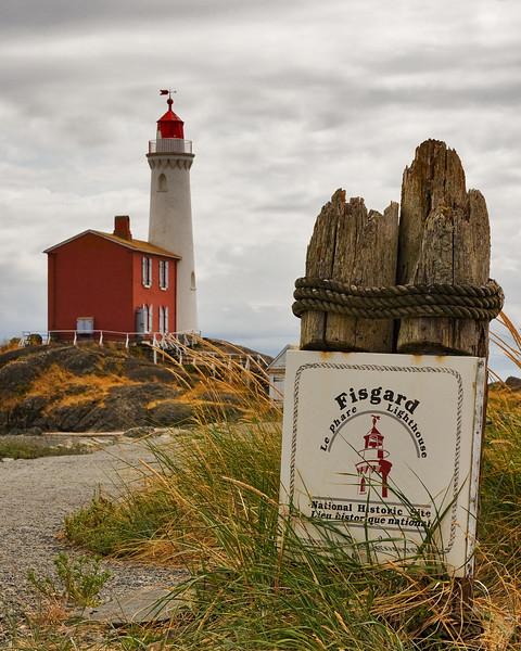 Fisgard Lighthouse, Victoria BC.