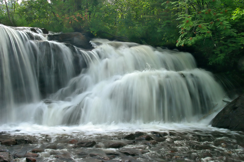 Raleigh Falls about 20 kms from Ignace, Ontario.