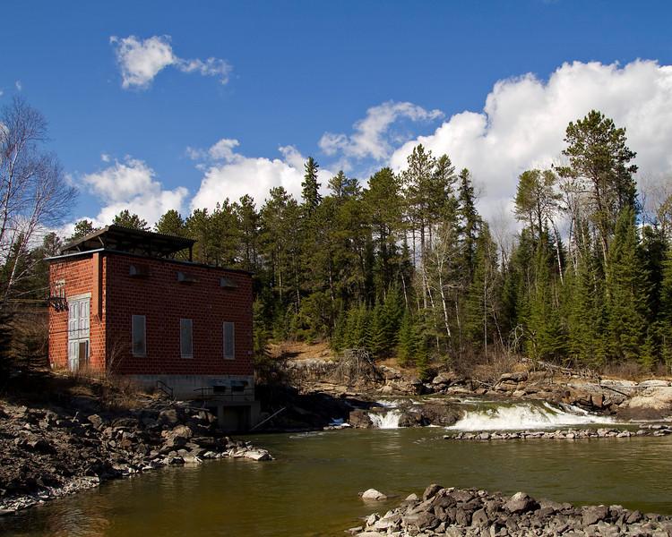 Eagle River power station.