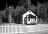 Shallow Lake School in infrared.<br /> <br /> Photo taken with a modified Canon 10D.