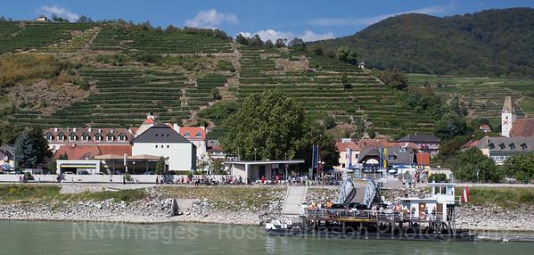 5D320738 Duernstein to Melk, Austria - Wachau Valley