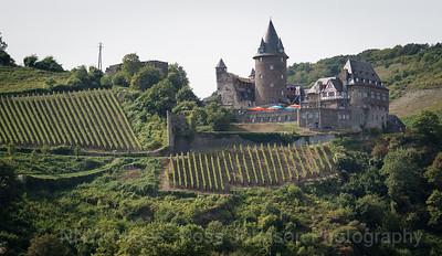 5D321527 Sailing thru the UNESCO protected Rhine Gorge