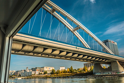 Sailing from Budapest to Vienna, Austria