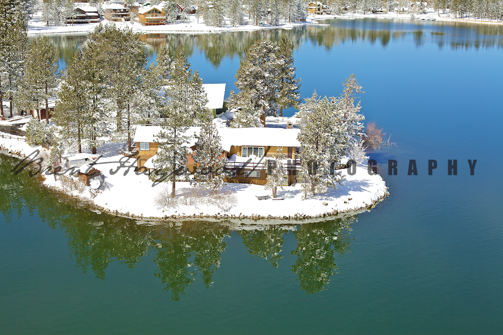 Big Bear Aerial Photo 361