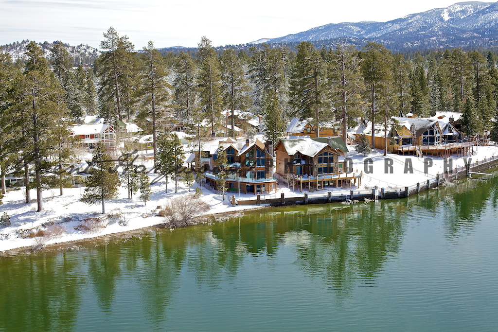 Big Bear Aerial Photo 397