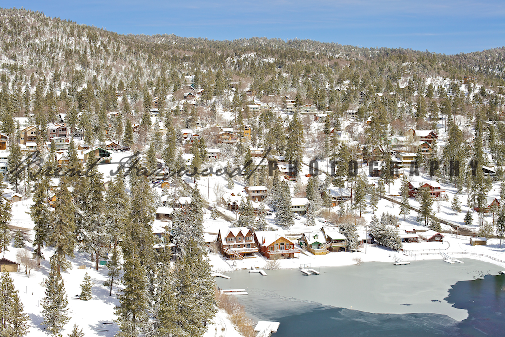 Big Bear Aerial Photo 127