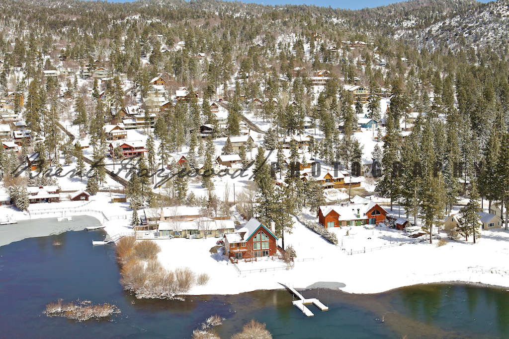 Big Bear Aerial Photo 125