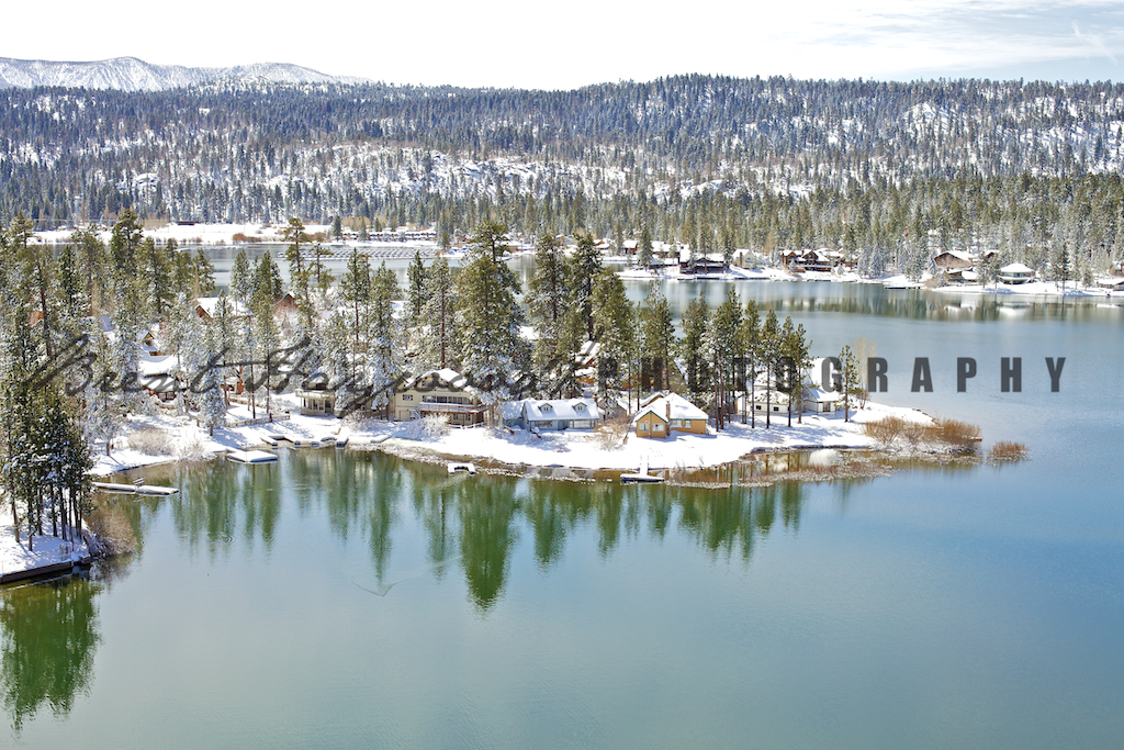 Big Bear Aerial Photo 319