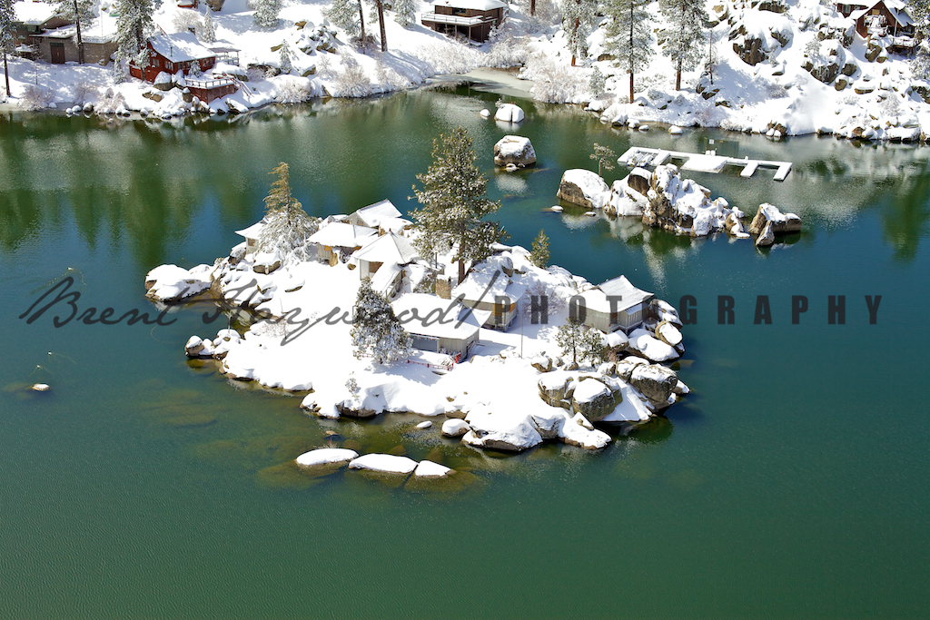 Big Bear Aerial Photo 177