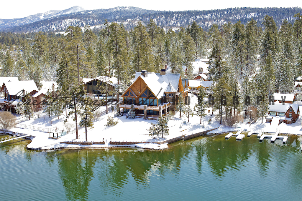 Big Bear Aerial Photo 266