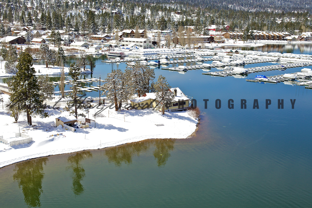 Big Bear Aerial Photo 385