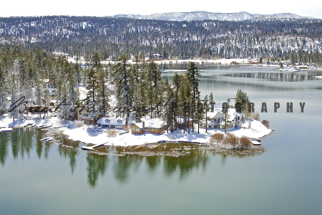 Big Bear Aerial Photo 316
