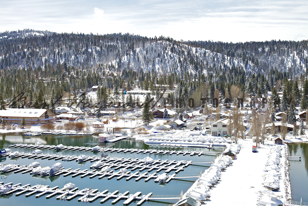 Big Bear Aerial Photo 380