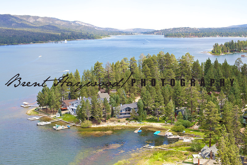 Big Bear Lake Aerial Photo IMG_9030