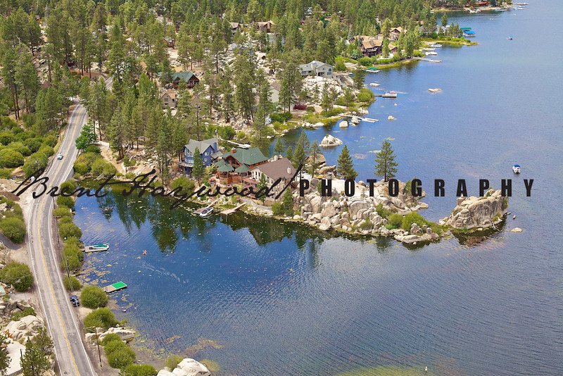 Big Bear Lake Aerial Photo IMG_9129
