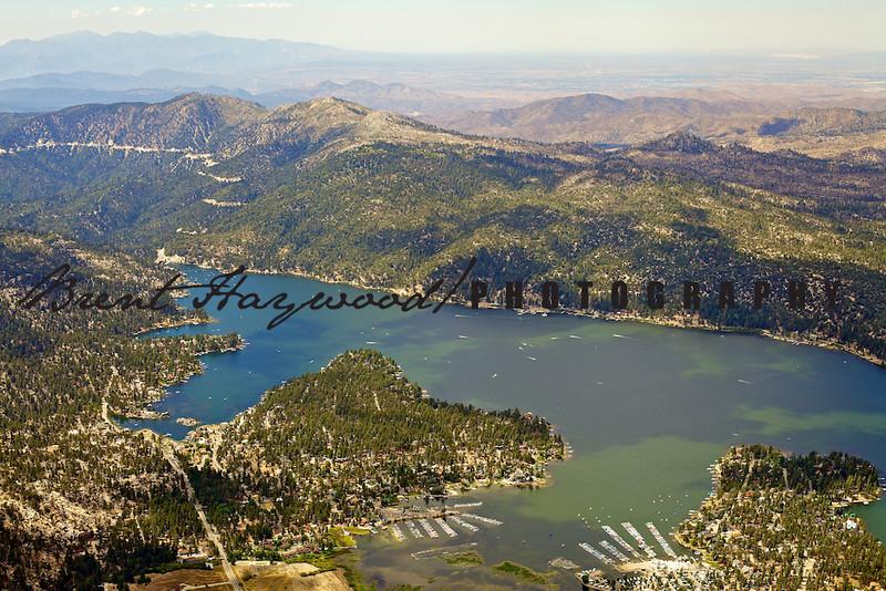Big Bear Lake Aerial Photo IMG_9405