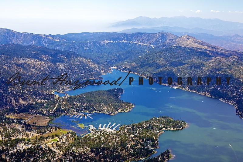 Big Bear Lake Aerial Photo IMG_9410