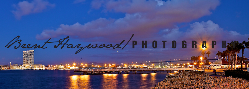 Coronado Bridge, night photography