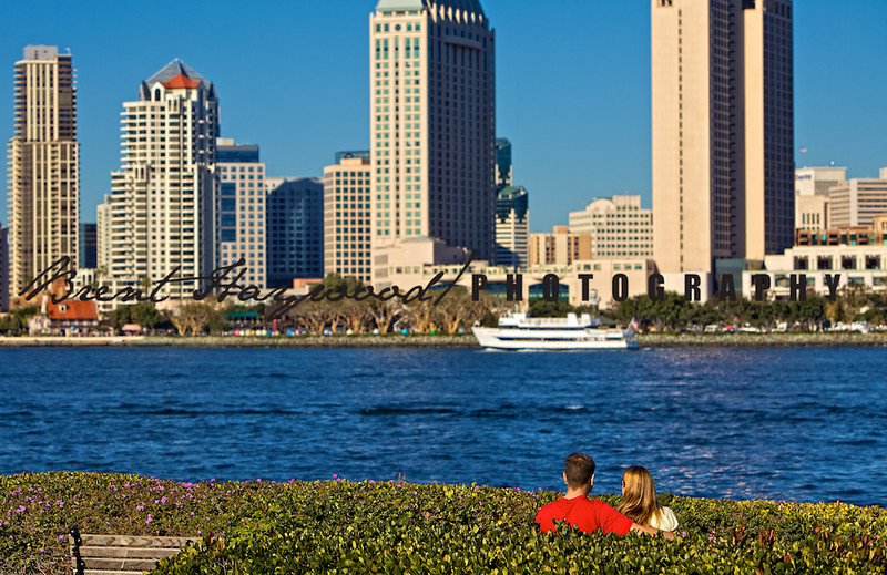 San Diego skyline, Coronado