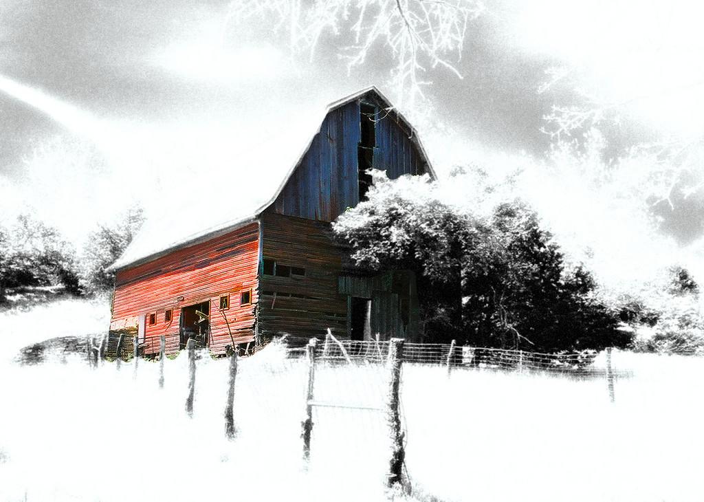 Barn near Garnett, Ks.