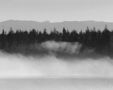 Fog-Inside Passage en route to Vancouver.