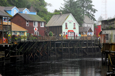 Creek Street-Ketchikan