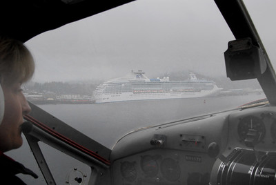 Island Princess docked at Ketchikan.