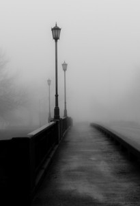 Foggy Bridge #2, Wichita, Ks.