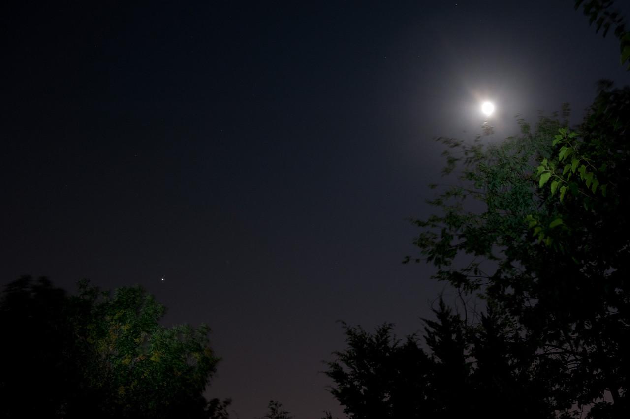 Jupiter and Moon, Sept. 2010.